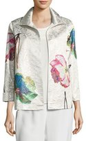 Caroline Rose Rise & Shine Jacquard Jacket, Plus Size