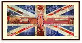 Alex Union Jack Collage Framed Wall Art By Zeng