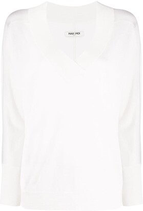 Max & Moi Knitted Long Sleeve Top