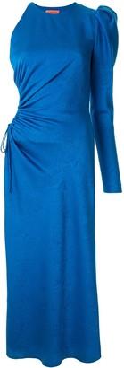 Manning Cartell Australia Asymmetric Sleeve Structured Shoulder Dress