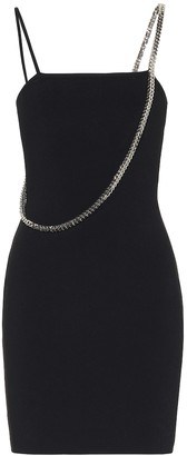 Alyx Cubix embellished knit minidress