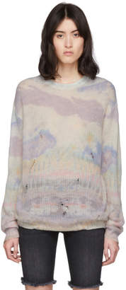 Amiri Multicolor Tie-Dye Cashmere Sweater