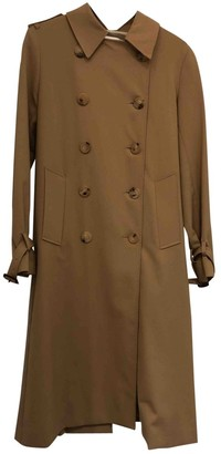 Sandro Spring Summer 2018 Camel Coat for Women