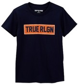 True Religion Box Stitch Tee (Little Boys)