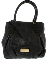 Marc by Marc Jacobs Women's New Q Fran Leather Top-Handle Tote - Black