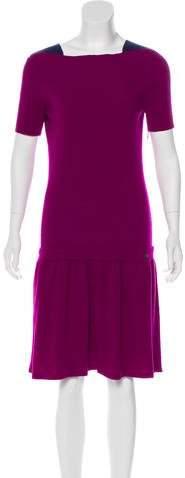 Chanel Wool Cashmere Knit Dress