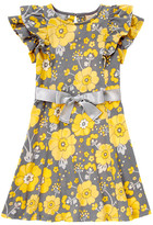 Gymboree Belted Floral Ruffle Dress