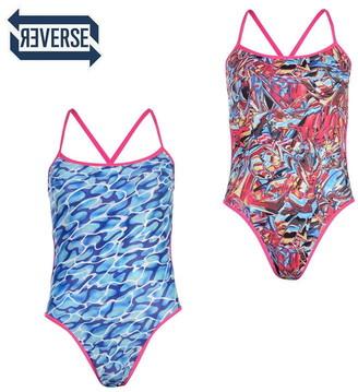 Speedo Flip Reversible Swimsuit Ladies