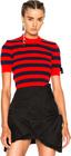 fendi-striped-short-sleeve-sweater
