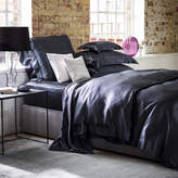 Gingerlily - 100% Silk Charcoal Duvet Cover - Super King