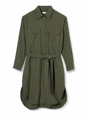 Seidensticker Women's Blusenkleid Midi Dress