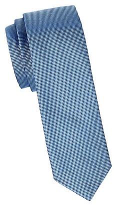 HUGO BOSS Textured Silk Slim Tie