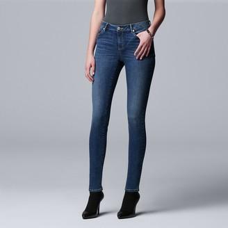 Vera Wang Women's Simply Vera Power Stretch Core Skinny Jeans
