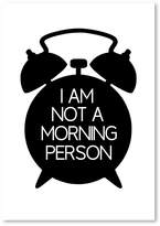 Americanflat Morning Person Print Art, Print Only