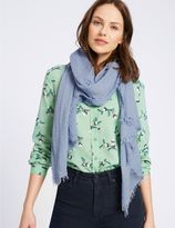 Marks and Spencer Crinkle Scarf
