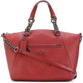 Coach pebbled Prairie satchel - women - Leather - One Size
