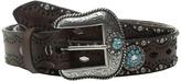 Ariat Diamond Cutout Turquoise Concho Belt