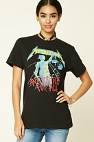 Forever 21 FOREVER 21+ Metallica Graphic Band Tee