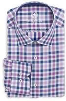 Bugatchi Cotton Check Dress Shirt