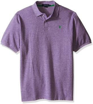 U.S. Polo Assn. Men's Big-Tall Twisted Yarn Polo Shirt