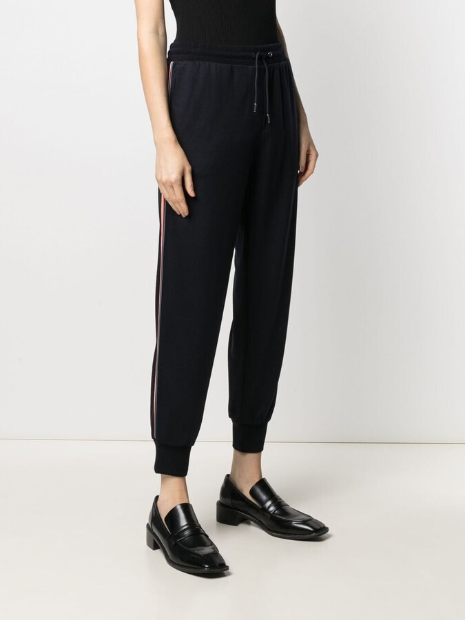 Thumbnail for your product : Paul Smith Drawstring Knitted Track Pants