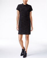 Maison Jules Textured Collar Shift Dress, Only at Macy's