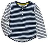 Sovereign Code Boys' Long-Sleeved Striped Henley - Little Kid