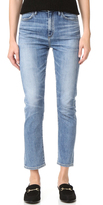 Gold Sign Glenn High Rise Cropped Straight Jeans
