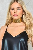 Nasty Gal nastygal Dolled Up Metal Choker