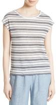 Joie Women's Kinsley Linen Stripe Tee