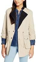 Kaporal Women's Long Sleeve Coat - Beige -