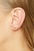 Forever 21 Stacked Faux Gem Ear Pins