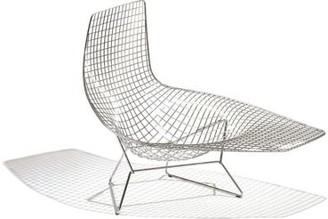 Knoll Bertoia Asymmetric Chaise, Unupholstered