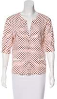 Marc by Marc Jacobs Heart Print Knit Cardigan
