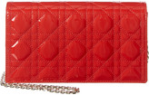 Christian Dior Lady Leather Clutch