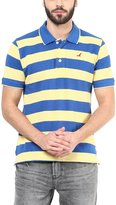American Crew Men's Polo Collar Stripes T-Shirt -XL (AC60A-XL)