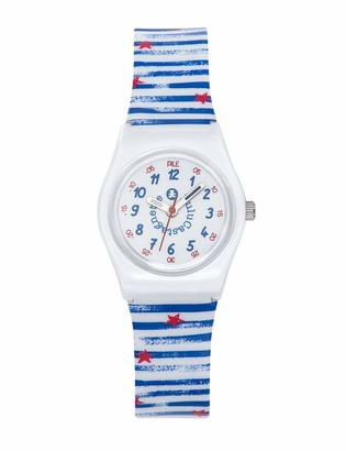 Lulu Castagnette Girl's Analogue Quartz Watch with Plastic Strap 38836