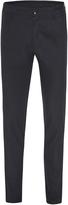 Oxford Slim Leg Cotton Trousers