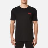 Hugo Durned Small Logo Tshirt - Black