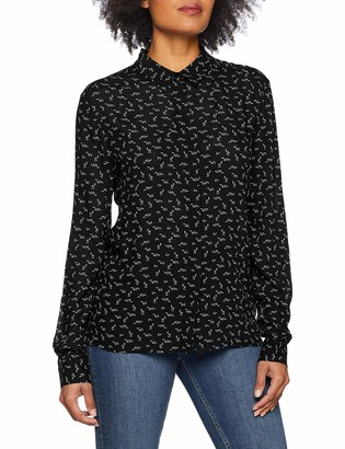 Opus Women's Fulli Slim Fit Long Sleeve Blouse
