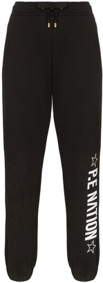 P.E Nation Downclimb logo-printed sweatpants