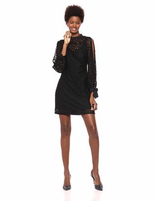 Calvin Klein Women's Black LACE Dress 12