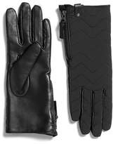 Mackage Piner Quilted Leather Gloves For Women