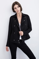 Manthis French Terry Moto Jacket