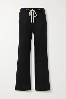 Twenty Montreal Pine Fleece Straight-leg Pants - Black