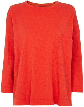 Whistles Cotton Pocket Top