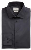 Armani Collezioni Men's Slim Fit Textured Dress Shirt