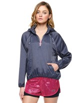 Juicy Couture Denim Nylon Windbreaker