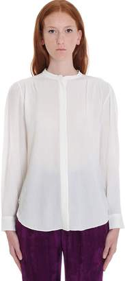Isabel Marant Musak Shirt In Beige Cotton