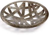 Heart of Haiti Recycled Metal Round Ribbon Cutout Tray